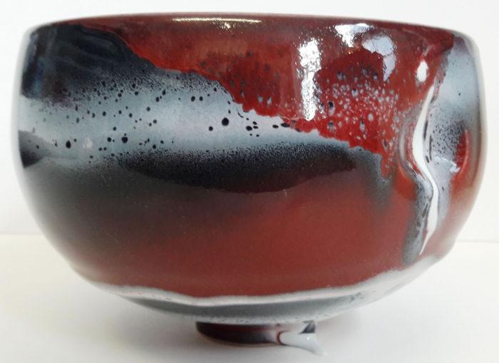 Multiple glazed bowl