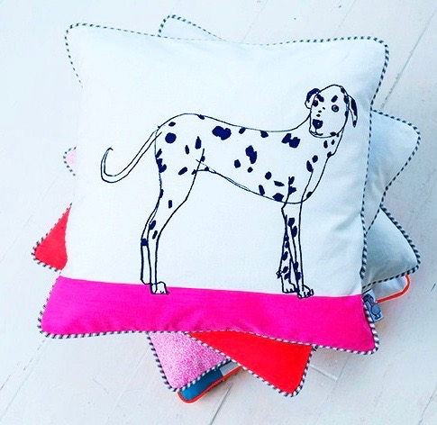 Spotty Dog Cushion